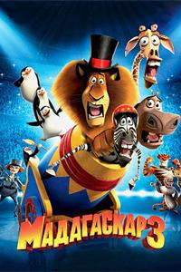 Постер к фильму Мадагаскар 3