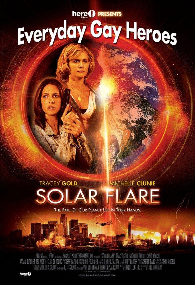 Постер к фильму Солнечная вспышка