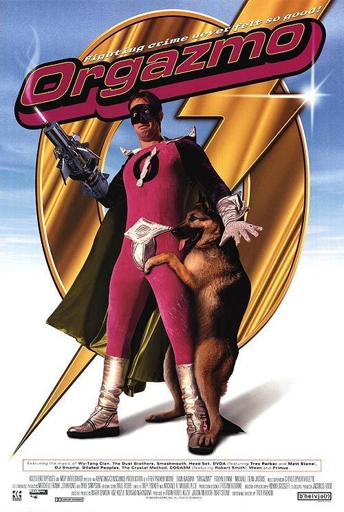 Постер к фильму Капитан Оргазмо