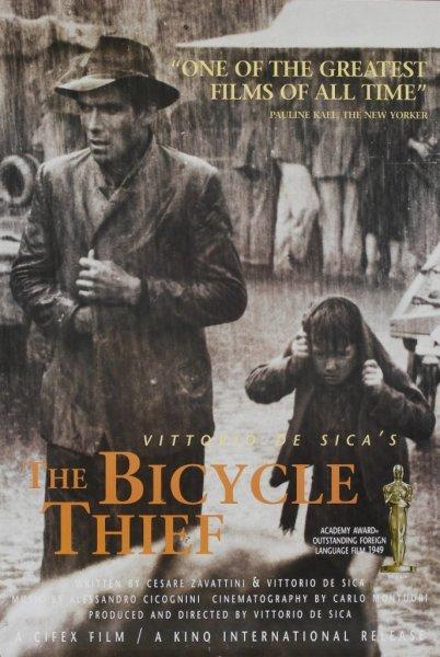 Постер к фильму Похитители велосипедов
