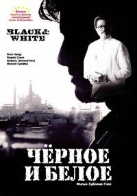 Постер к фильму Черное и белое