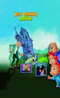 Смотрите онлайн Элвин и бурундуки встречают Франкенштейна