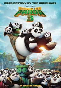 Постер к фильму Кунг-фу Панда3